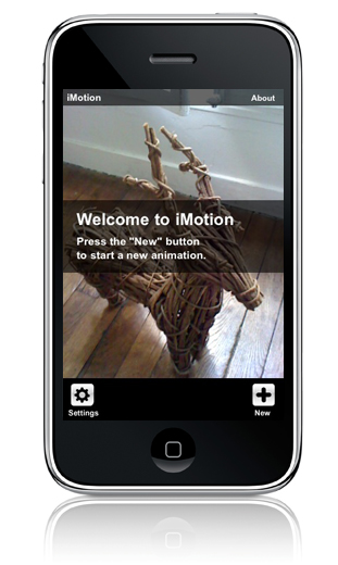 wakey:Imotion Apple iphone application stop motion
